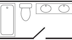 MAIN BATH SHOWER/TUB COMBO